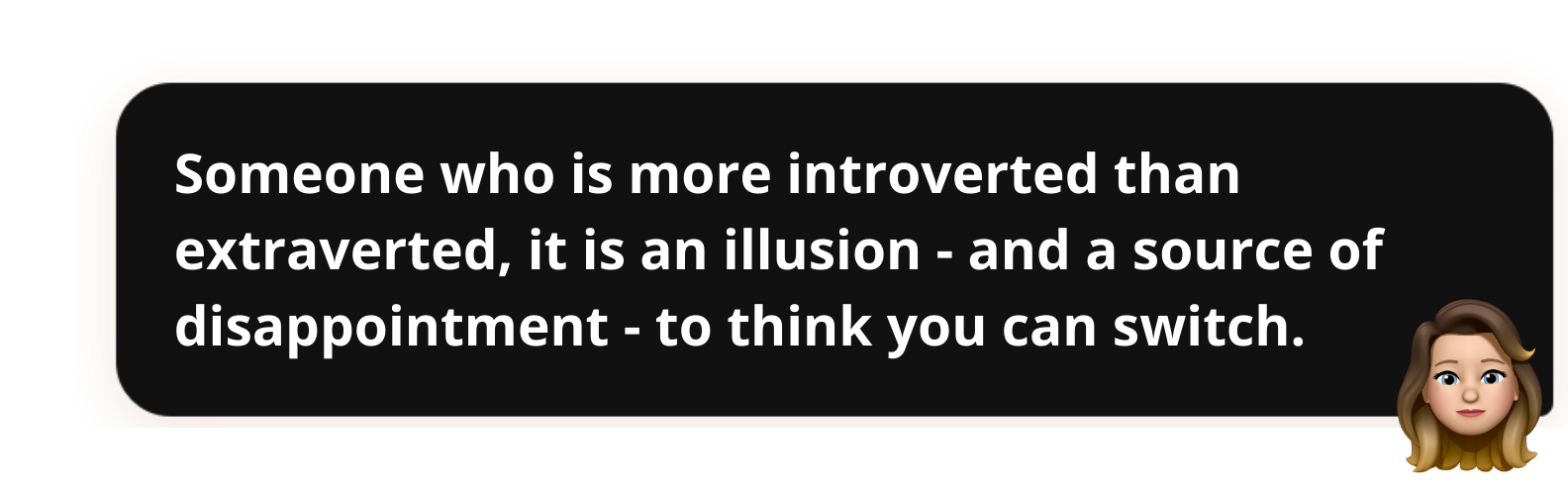 Interview Popwork-Violaine-du-Boucher-Someone who is more introverted than extraverted, it is an illusion - and a source of disappointment - to think you can switch.