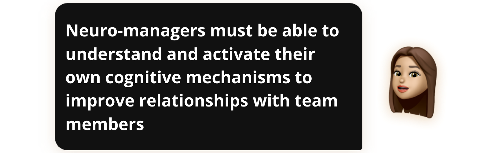 Neuro-managers must be able to understand and activate their own cognitive mechanisms to improve relationships with team members - Popwork