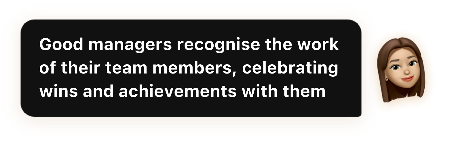 Good managers recognise the work of their team members, celebrating wins and achievements with them - Popwork