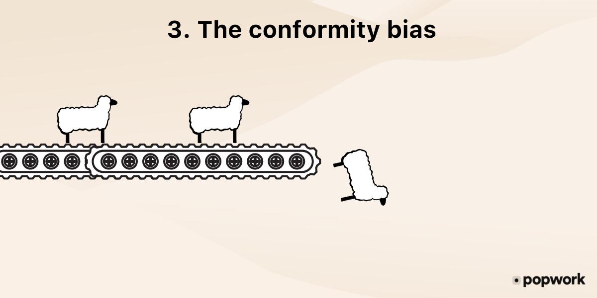 The-conformity-bias - Popwork